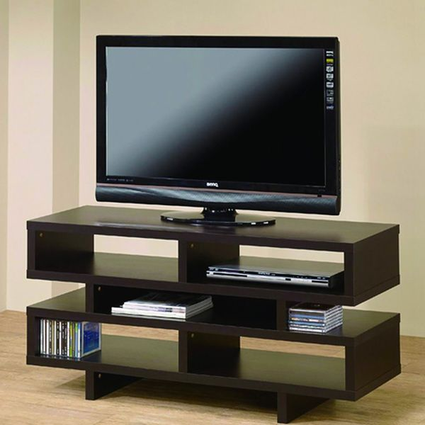 santiago brown tv stand overstock shopping great deals on jeco centers