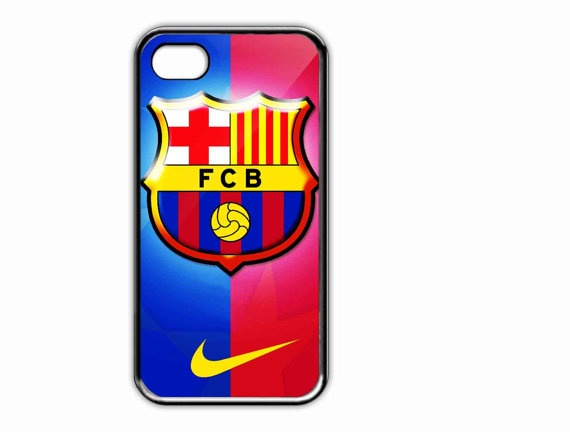 Apple iPhone Case Barcelona FC Logo  For iPhone 4 4s by AmbuRadol, $15.50