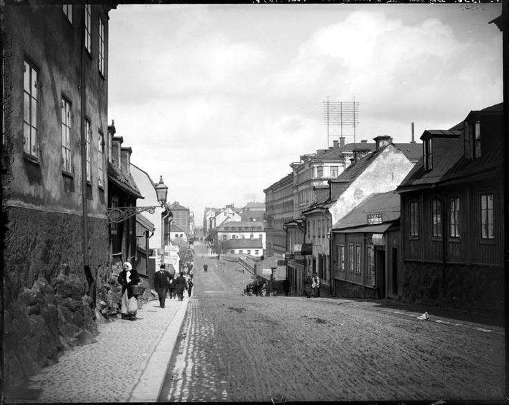 Götgatan norrut från Gotlandsgatan - Stockholmskällan