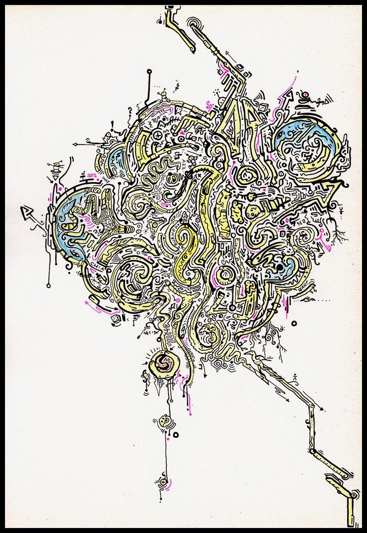"""ACID Drawings : TRIP 023 """"SETTE"""""""