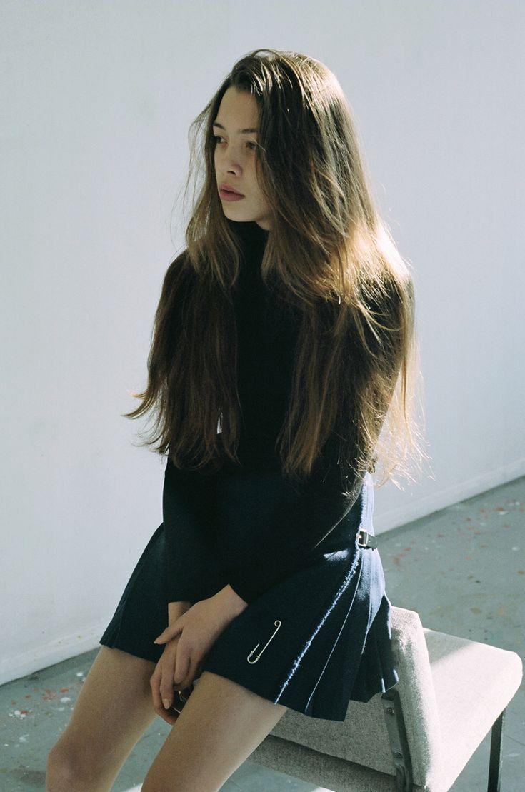 short skirt   Kilt pin   #style #fashion