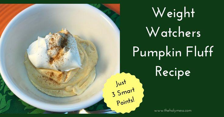This Weight Watchers Pumpkin Fluff recipe is a classic Weight Watchers recipe for the holidays. Get creamy pumpkin flavor for just 3 Smart Points.