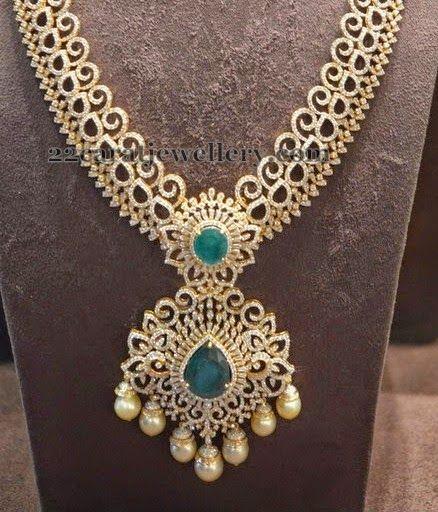 Jewellery Designs: Enchanting Diamond Design