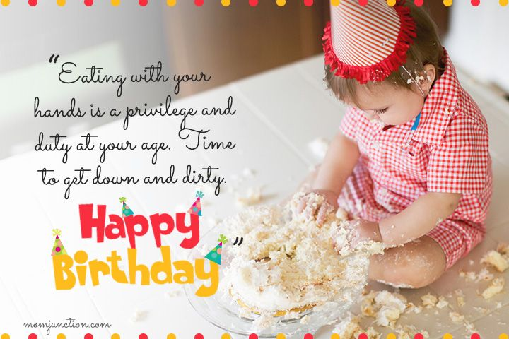 106 Wonderful 1st Birthday Wishes And Messages For Babies 1st Birthday Wishes First Birthday Wishes Happy First Birthday