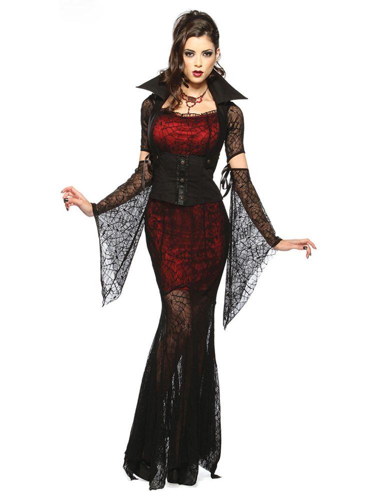 Disfraz de Vampiresa Para Mujer DF240