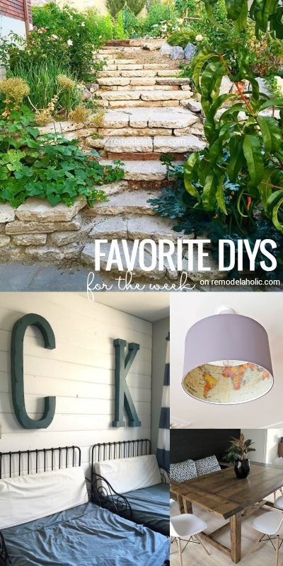 Remodelaholic | Friday Favorites: Changing Table Upcycle & Salvaged Concrete…