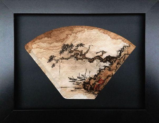 Feng Kaixuan, Flitre Café 8, Peinture