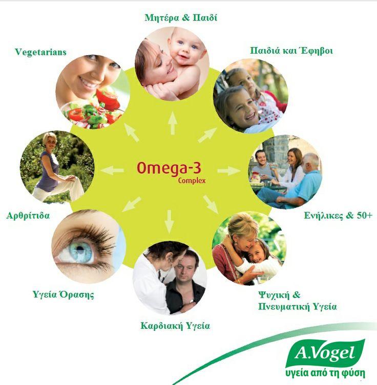 Tο A.Vogel Omega-3 complex περιέχει, εκτός των ελαίων από μικροάλγη, και λινέλαιο ψυχρής έκθλιψης.  Είναι μοναδικό φυτικό μείγμα Ω3 λιπαρών οξέων, που συνδυάζει όλες τις ευεργετικές τους ιδιότητες, τις υψηλότερες προδιαγραφές καθαρότητας, τη μέγιστη απορρόφηση και βιοδιαθεσιμότητα των δραστικών συστατικών του με την απουσία ουσιών ζωικής προέλευσης και επομένως την αποφυγή τοξικών βαρέων μετάλλων όπως ο υδράργυρος, χημικοί διαλύτες και αλλεργιογόνοι παράγοντες όπως τα ψάρια και τα…
