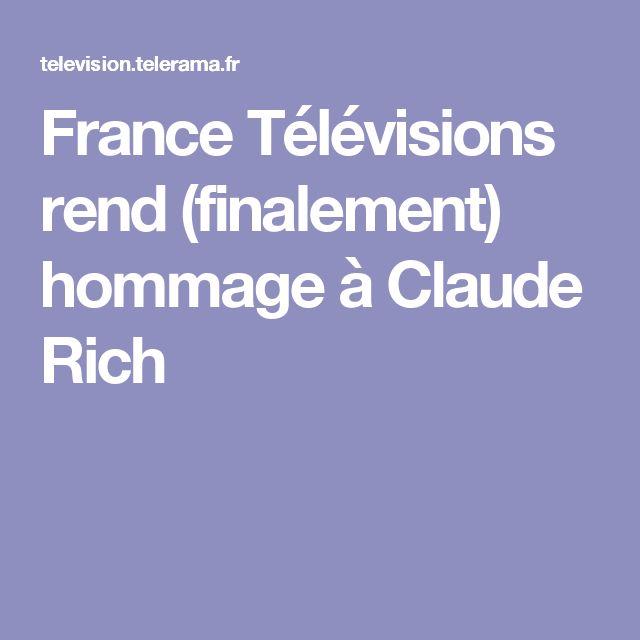France Télévisions rend (finalement) hommage à Claude Rich