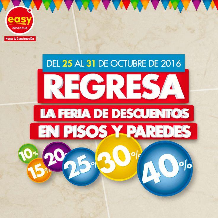 Conoce la gran variedad de pisos para ambientar tu hogar. FeriaDePisosyParedes #Pisos #Cerámica #Easy #Feria #Paredes #Deco