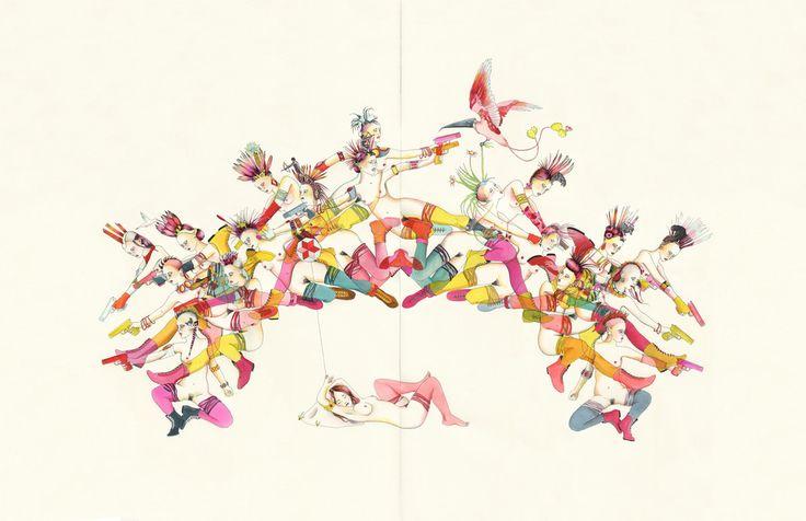 Delphine Lebourgeois - Iroquoise: – Gas Gallery - Beautiful Art & Design