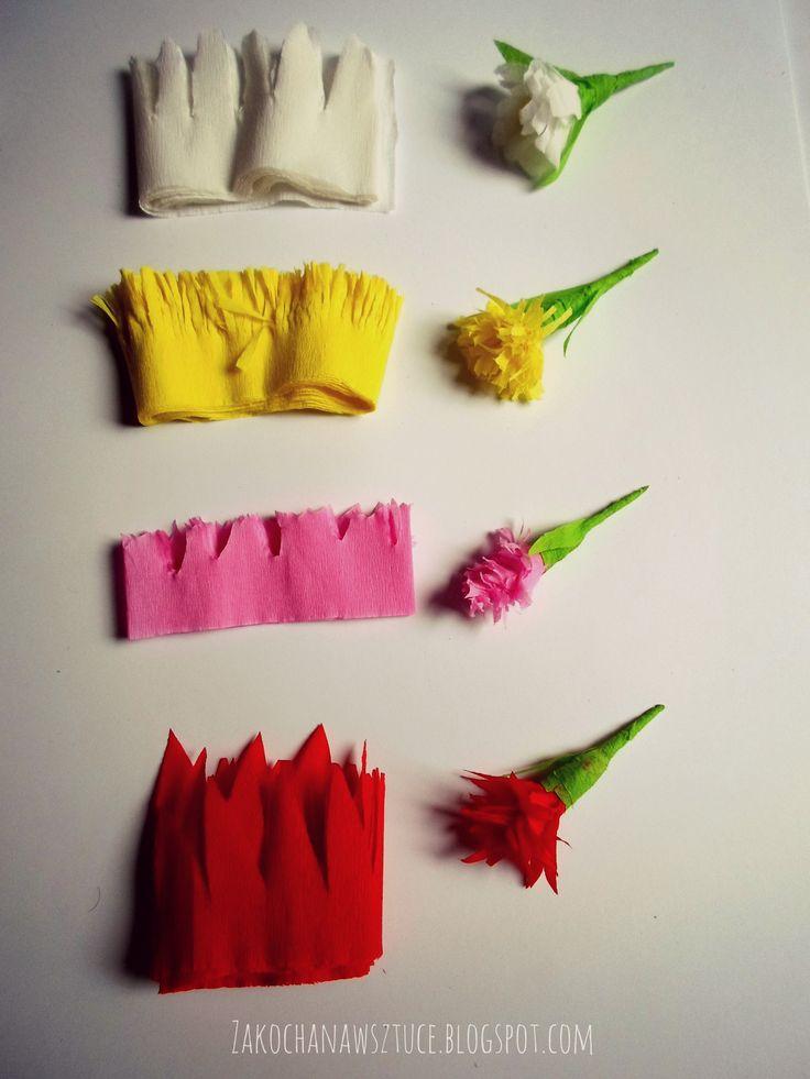 Cóż to za wiosna dziś tu przyszła? :)  Tutorial już niebawem na: http://zrobiszsam.muratordom.pl  oraz www.zakochanawsztuce.blogspot.com <3  #wiosna #kwiaty #kwiatki #Zakochanawsztuce #DIY #bibuła #handmade