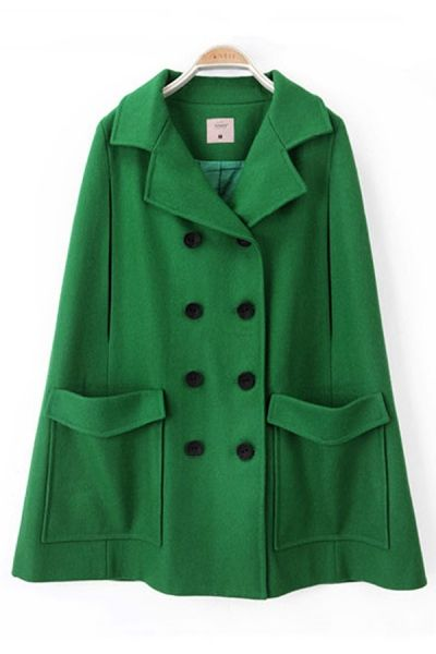 Woolen Caped Cape. It reminds me of an outfit on Gossip Girl. I just love capes.
