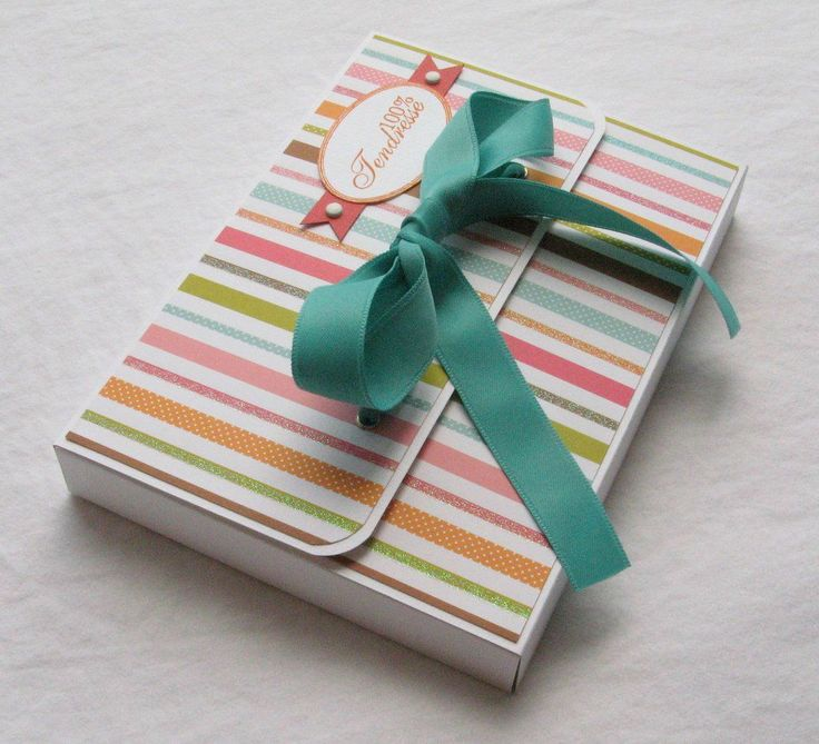 tutoriel boîte pour mettre un mini dedans / tutorial box tu put a mini album inside