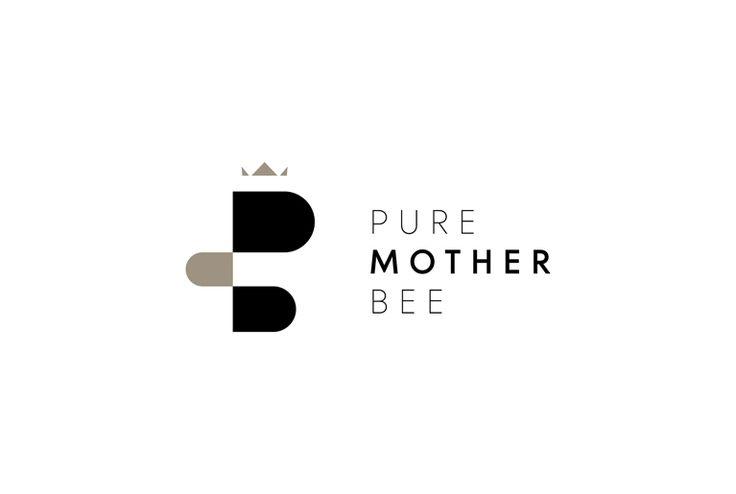 Pure Mother Bee Organic Thyme Honey   Logotype