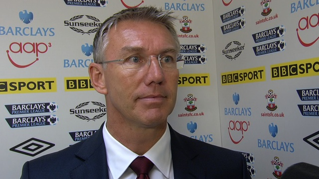 Southampton manager Nigel Adkins says he is confident he will be given time to turn around his side's fortunes after their latest defeat.