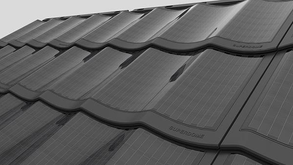 Solar Tile Superdome on Behance
