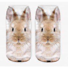 Kotníkové ponožky se zvířecími motivy