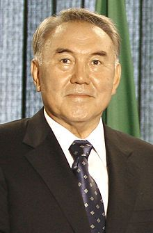 13 - Medio Oriente - Nursultan Nazarbayev