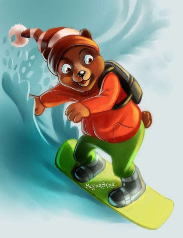 Illustration 2012 by Sugar Snail, via Behance