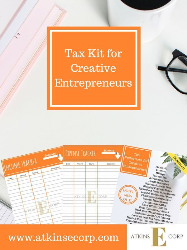 Keep Your Creative Small Business Organized With Our Printable Tax