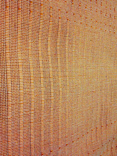 VIENNA ΡΙΓΕ ORANGE Ριχτάρια βαμβακερά, πλενόμενα, Ελληνικής ραφής #home #decoration #livingroom