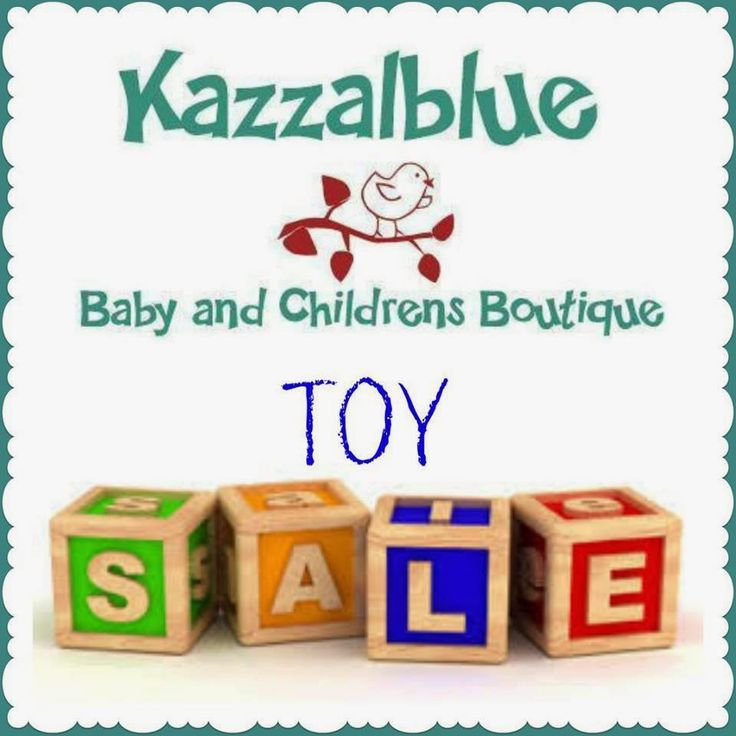 TOY SALE at Kazzalblue - Wednesday 18th February