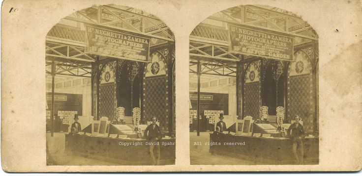 Negretti & Zambra, Negretti & Zambra Photographer booth (Detail), 1853 (or later), Stereocard  Stereoviews: Stereoviews and Fine 19th & 20th Century Antique Photographs, Courtesy of David Spahr (www.stereoviews.com)