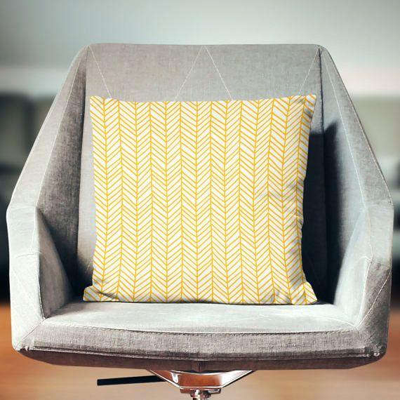 Yellow Pillow Yellow Throw Pillow Yellow Pillow Case