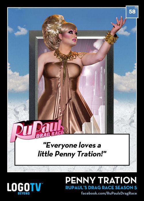 TRADING CARD THURSDAY 58: PENNY TRATION