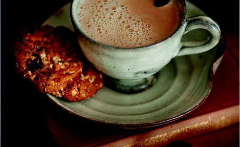 Chocolate Orange Oat Biscuits