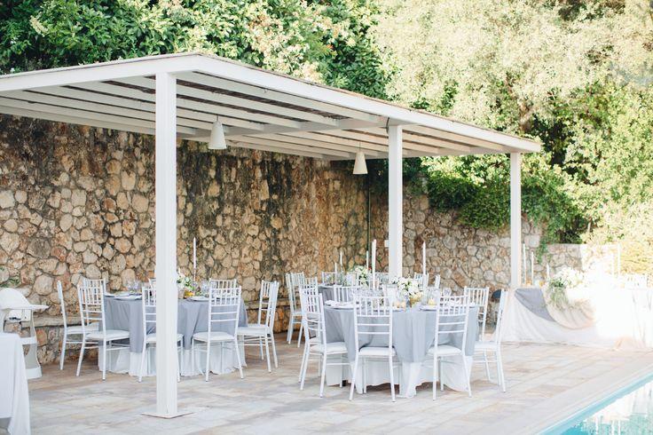 #corfu #wedding #elopement #symbolic #ceremony #greece #island #destination #yellow #villa