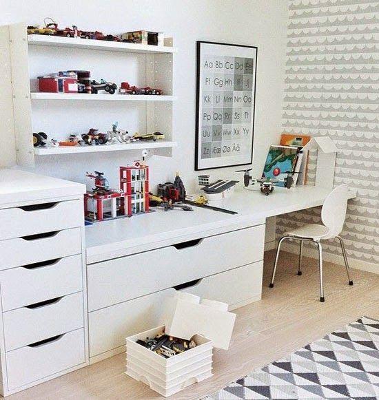 17 mejores ideas sobre tocador de ni as peque as en - Habitaciones pequenas ikea ...
