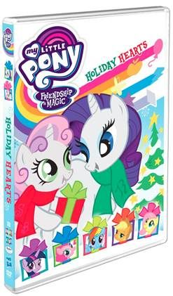 On DVD from SHOUT! Kids Factory and Hasbro Studios comes stories to begin the holiday season with MY LITTLE PONY Friendship is Magic – Holiday Hearts. http://moviemaven.homestead.com/For-family-and-kids.html
