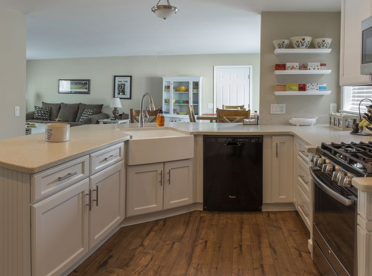 Photo courtesy of ksi designer joe peace merillat for Kitchen color planner