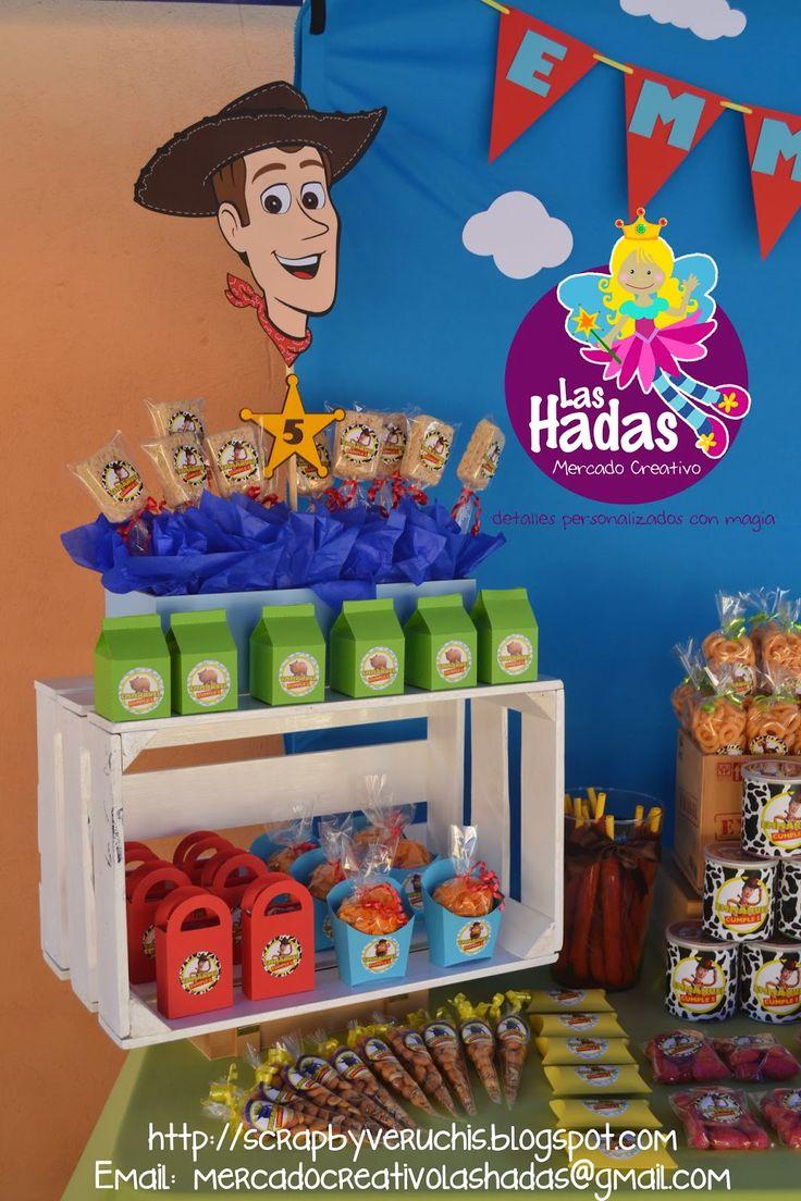 Las 25 mejores ideas sobre fiesta de toy story en - Como hacer una fiesta de cumpleanos ...