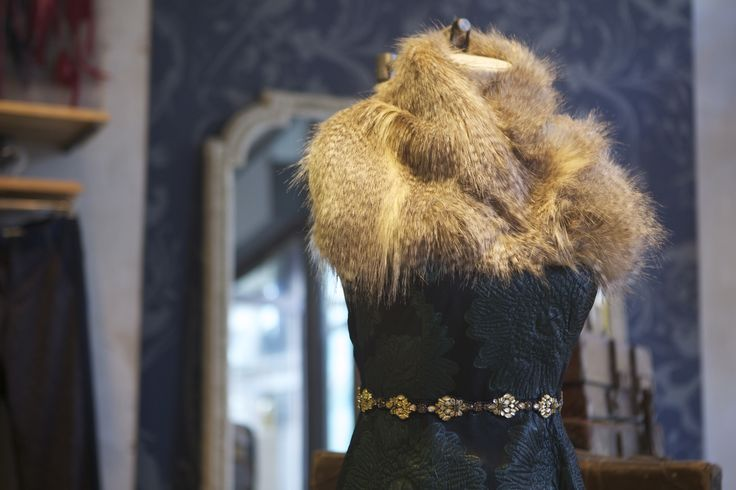 Vintage glamour at @anthropologieeu in #RegentStreet for #AW14.