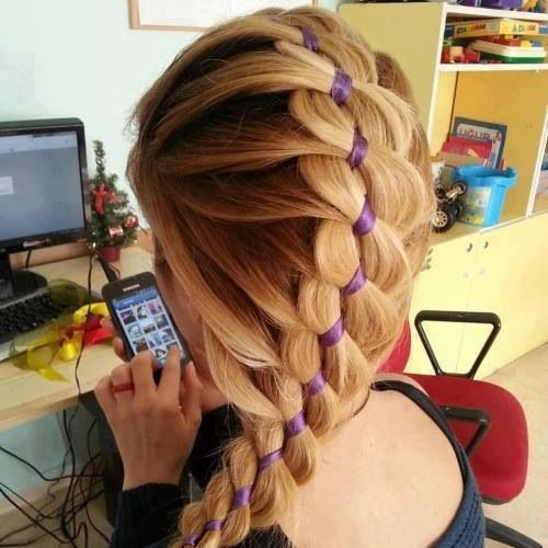 Cool Long Braided Hairstyle » Homecoming Hairstyles