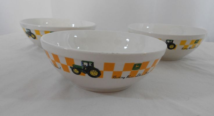 John Deere Bowl : Images about china dishes more on pinterest