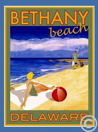 Bethany Beach Poster. One of my favorite places <3
