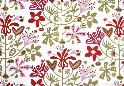 Alma Red | the swedish fabric company