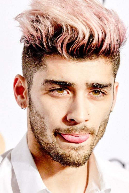 zayn malik with pink hair - Google Search