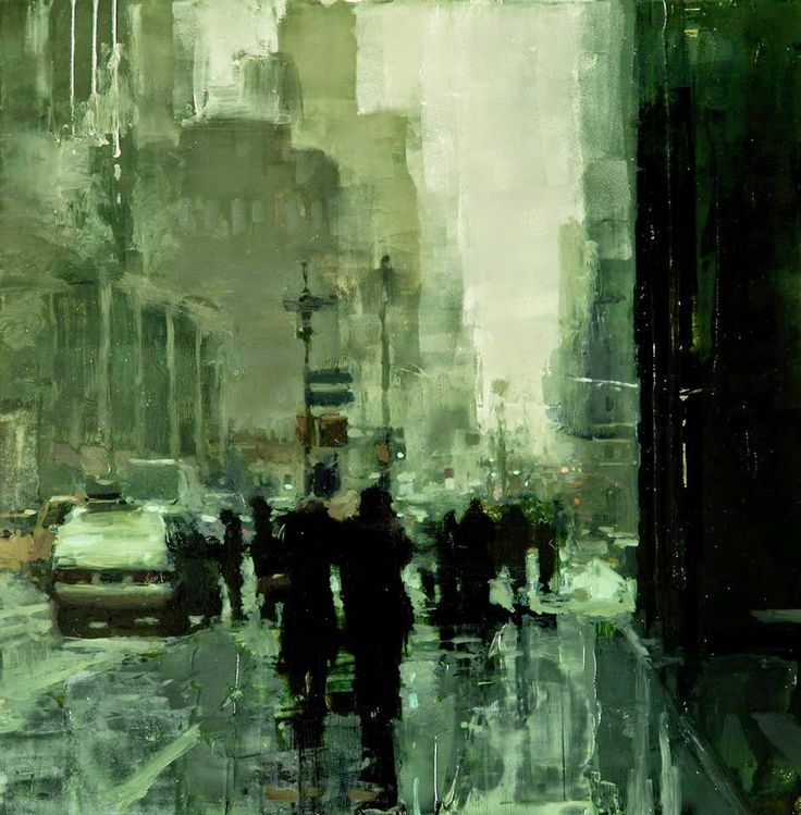 Jeremy Mann Painting Techniques | Jeremy Mann , 1979 is an American painter known for working in the ...