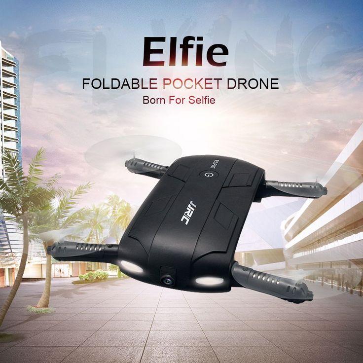 High Quality Original JJRC H37 6-Axis Gyro ELFIE WIFI FPV 720P HD Camera Quadcopter Foldable G-sensor Mini RC Selfie Drone from tomtop.com