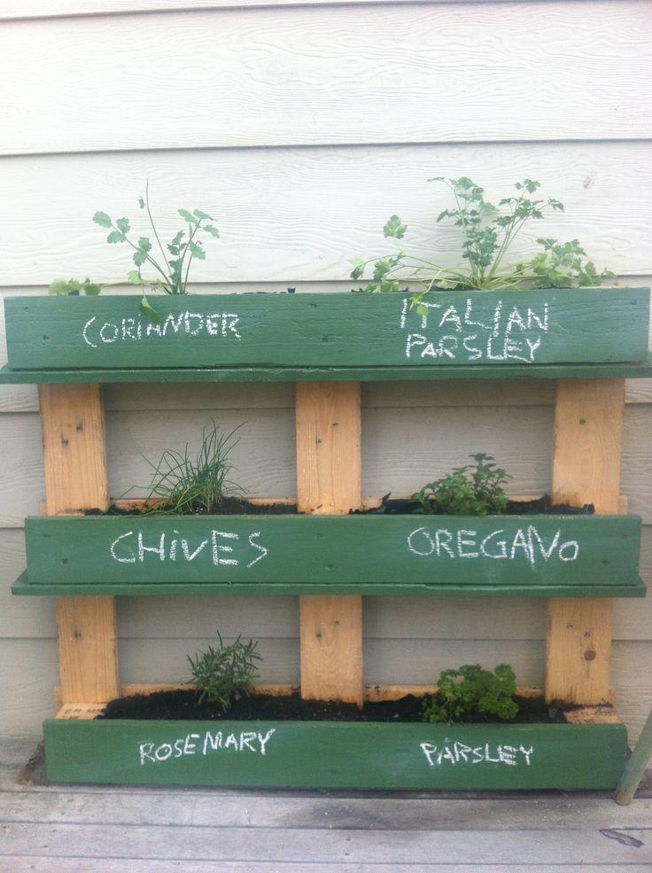 Herb garden complete