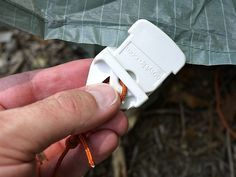 Easyklip: A good emergency lightweight tarp clip that will not let go: Ultra Light Hiking, Ultralight Backpacking.