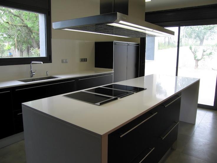 Campana extractora de techo pando i 480 cocinas con - Extractoras de cocina ...