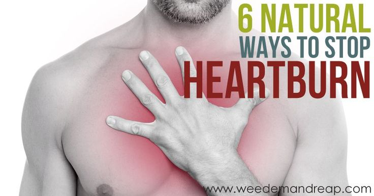 6 Natural Ways to Stop Heartburn - great article!