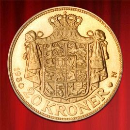 20 KRONER, DANISH KRONE, CHRISTIAN X., GOLD in stock and has just been added to http://www.bullionuk.com/products/gold/coins/denmark/20-kroner-danish-krone-christian-x-gold.html