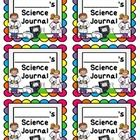I use these journal labels to label my students' composition  spiral notebooks and folders for the school year. Including in this freebie pack...